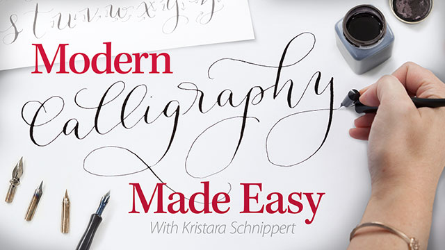 Online Classes: Modern Calligraphy Made Easy
