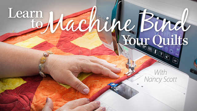Online Classes: Learn to Machine Bind Your Quilts