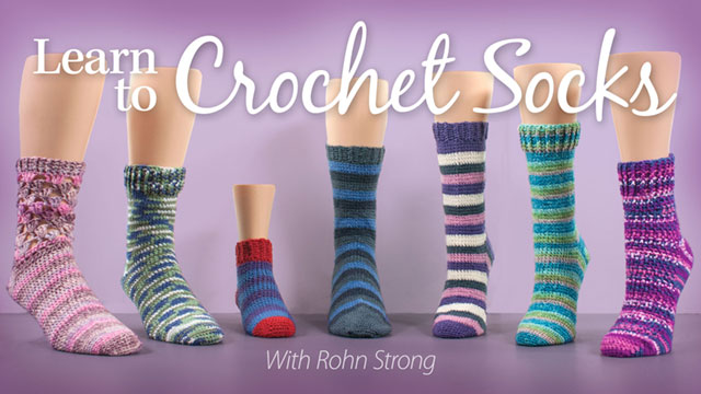 Online Classes: Learn to Crochet Socks