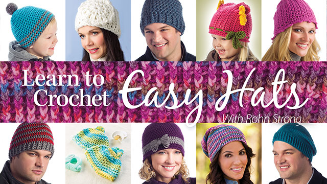 Online Classes: Learn to Crochet Easy Hats