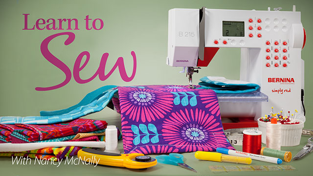 Learn to Sew video