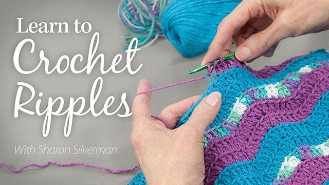 Online Classes: Learn to Crochet Ripples
