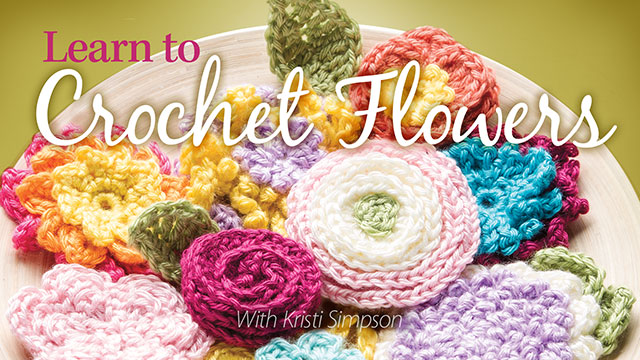 Learn to Crochet Flowers video