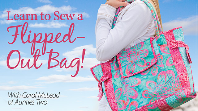 Learn to Sew a Flipped-Out Bag! video