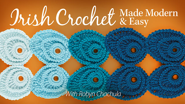 Online Classes: Irish Crochet Made Modern & Easy
