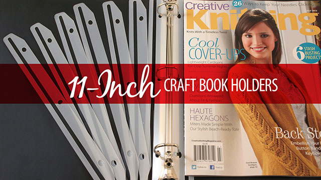 Products We Love: 11 Inch Craft Book Holders