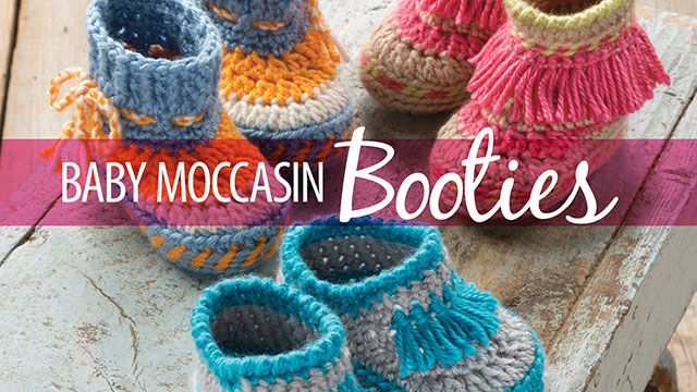 Learn, Make, Create!: Baby Moccasin Booties