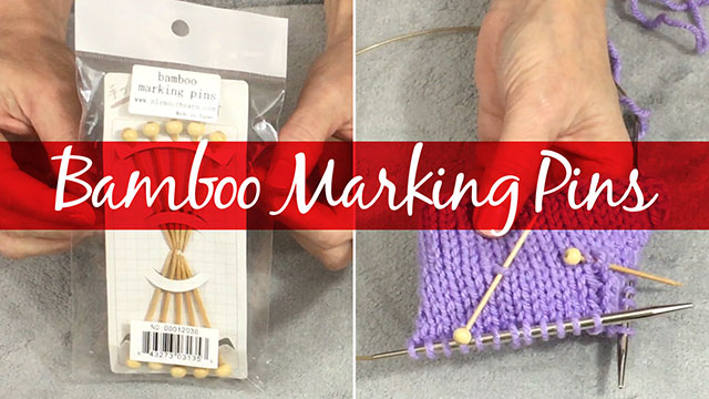 Products We Love: Bamboo Marking Pins