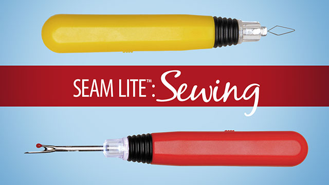 Seam Lite™: Sewing Tools video