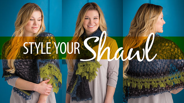 Creative Living: Style Your Shawl
