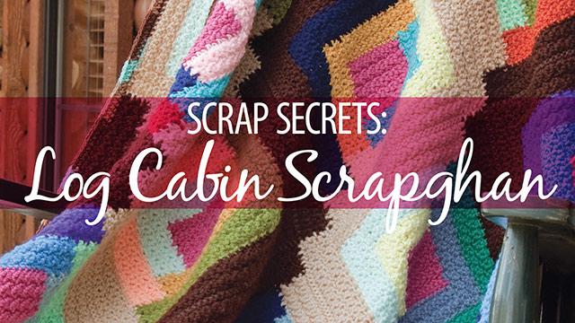 Learn, Make, Create!: Scrap Secrets: Log Cabin Scrapghan