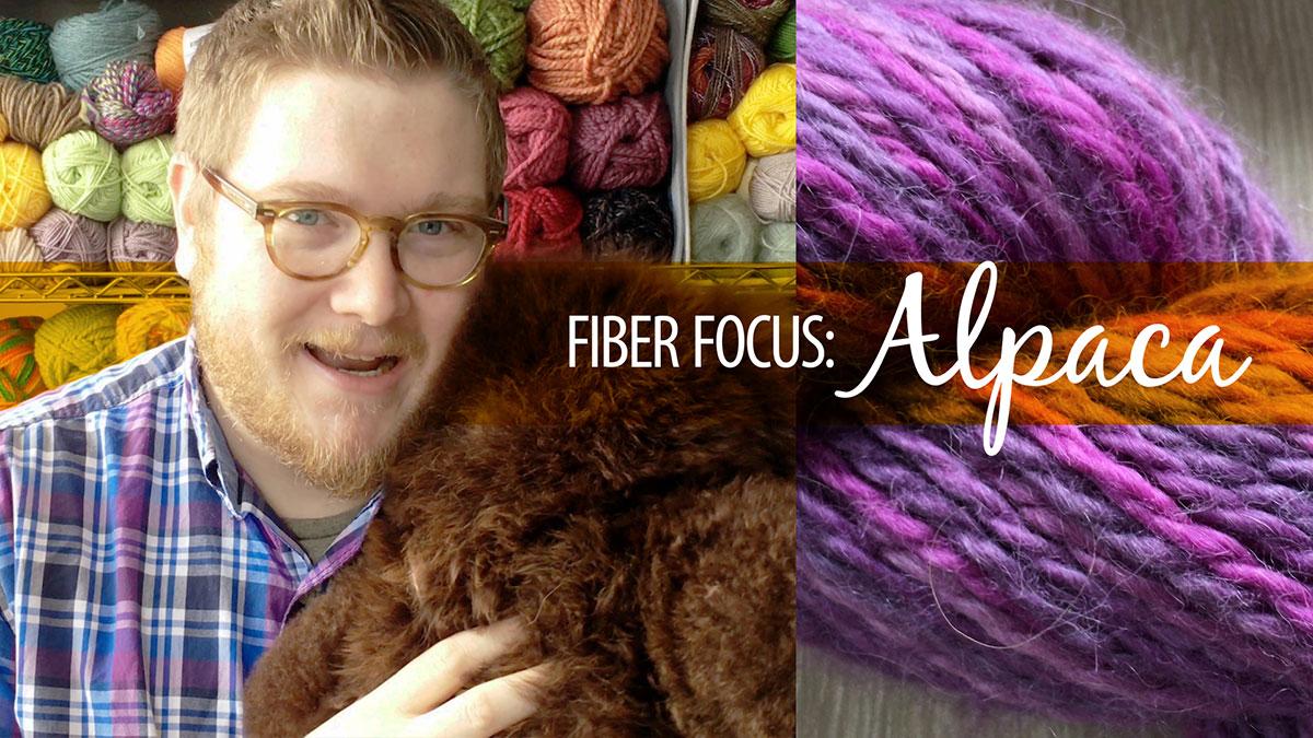 Creative Living: Fiber Focus: Alpaca