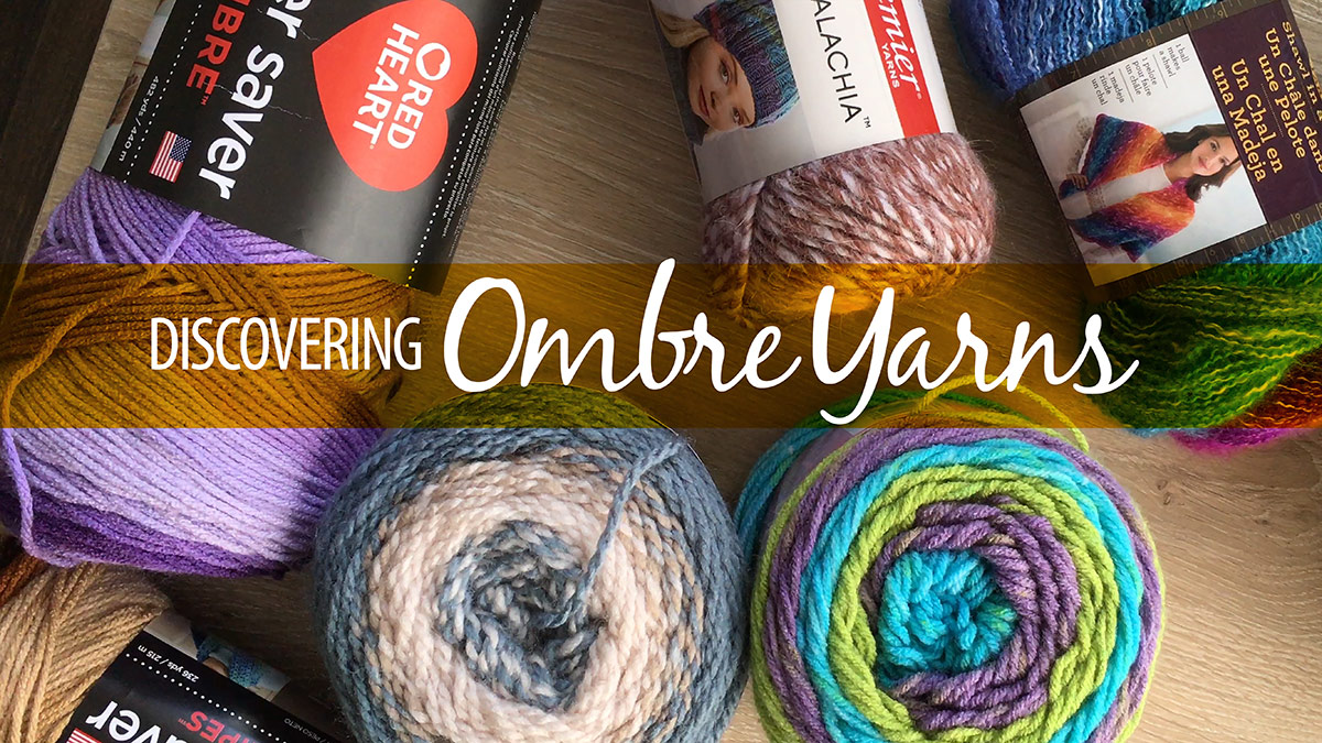 Creative Living: Discovering Ombre Yarns