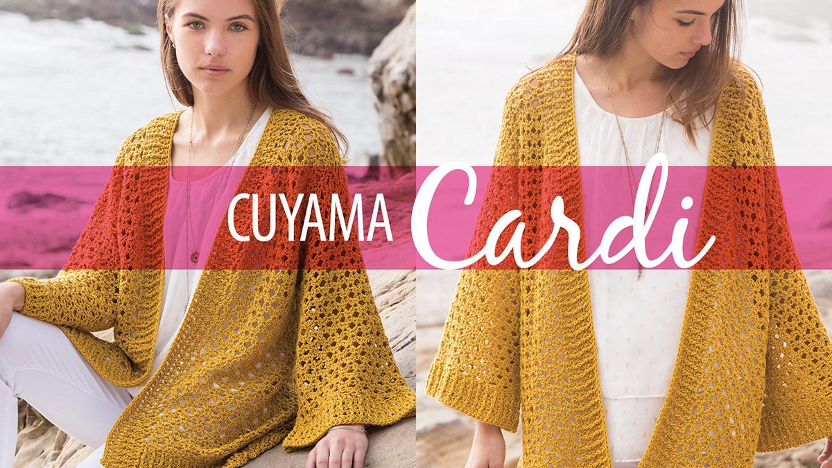 Learn, Make, Create!: Cuyama Cardi