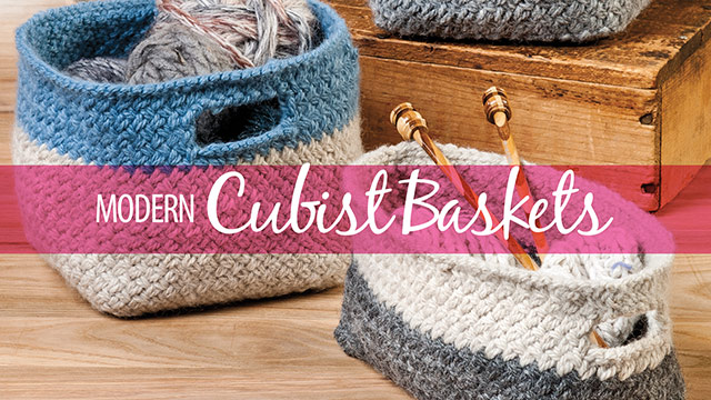 Learn, Make, Create!: Modern Cubist Baskets