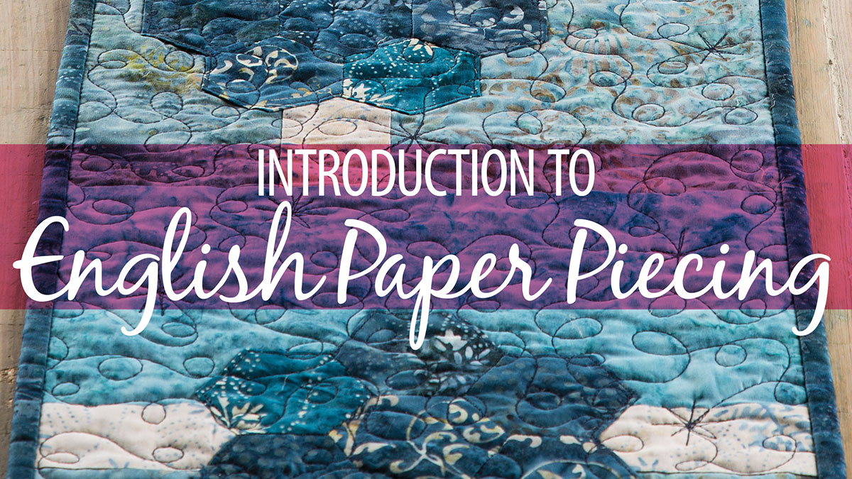 Introduction to English Paper Piecing video