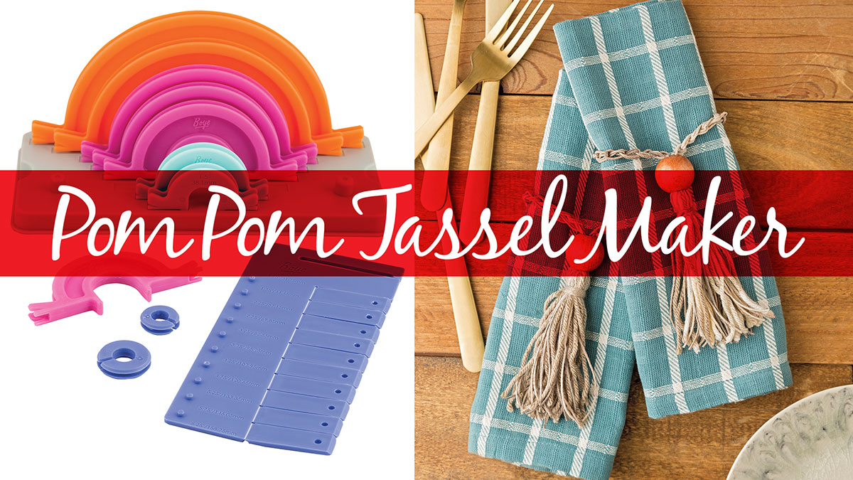 Products We Love: Pom Pom Tassel Maker