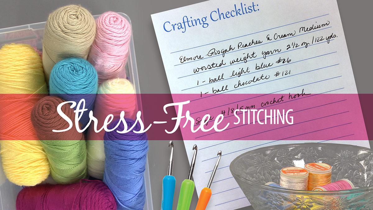 Learn, Make, Create!: Stress-Free Stitching