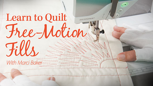 Online Classes: Learn to Quilt Free-Motion Fills