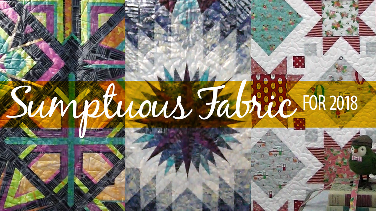 Creative Living: Sumptuous Fabric for 2018