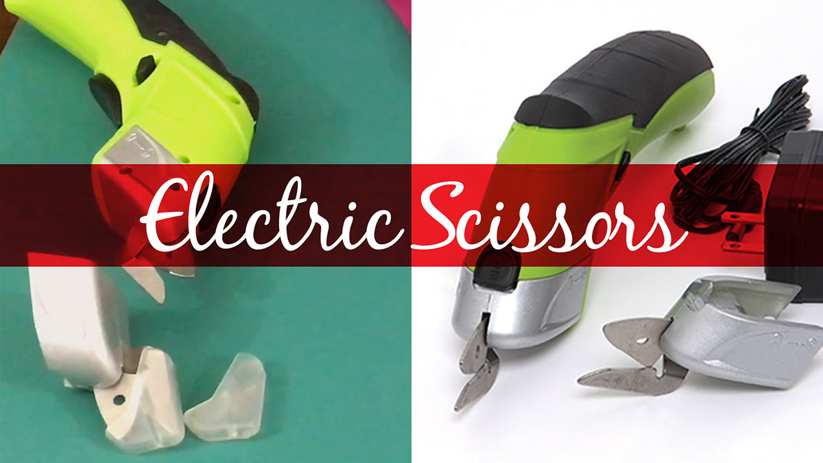 Products We Love: Electric Scissors