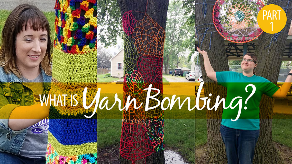Creative Living: What Is Yarn Bombing? Part 1
