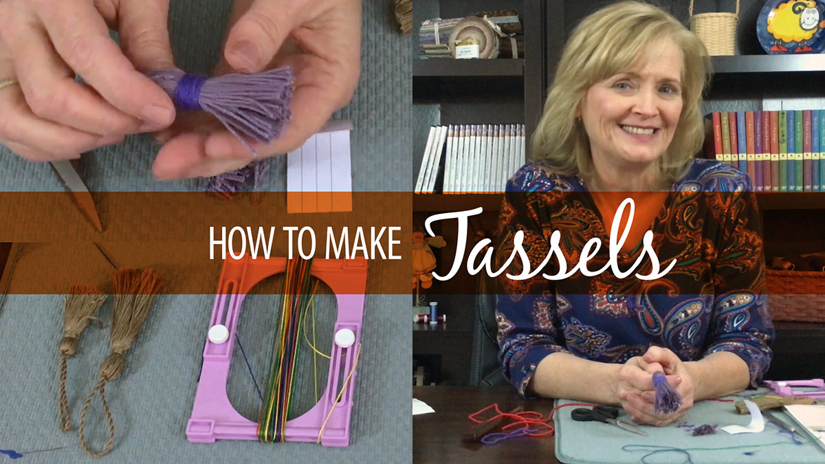 Quick Stitches & Tips: How to Make Tassels