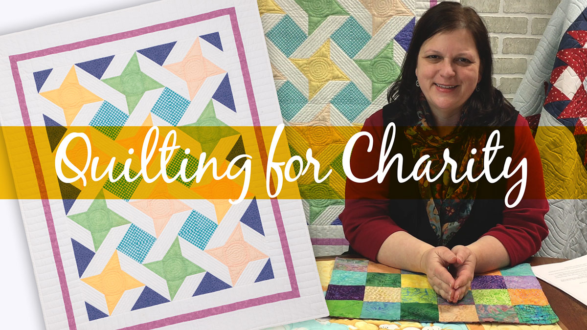 Creative Living: Quilting for Charity