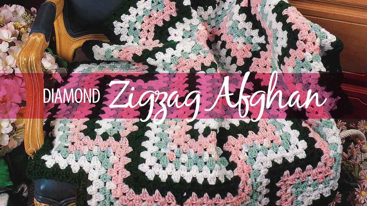Learn, Make, Create!: Diamond Zigzag Afghan