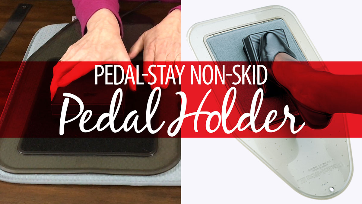 Products We Love: Pedal-Stay Non-Skid Pedal Holder