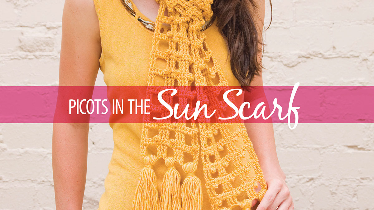 Learn, Make, Create!: Picots In the Sun
