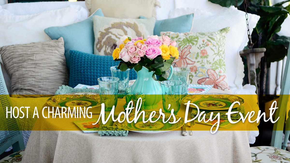 Host a Charming Mother's Day Event video