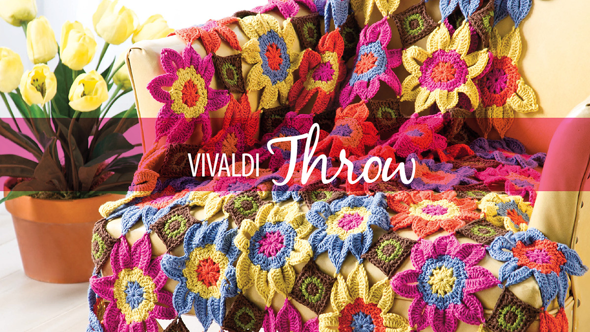 Learn, Make, Create!: Vivaldi Throw