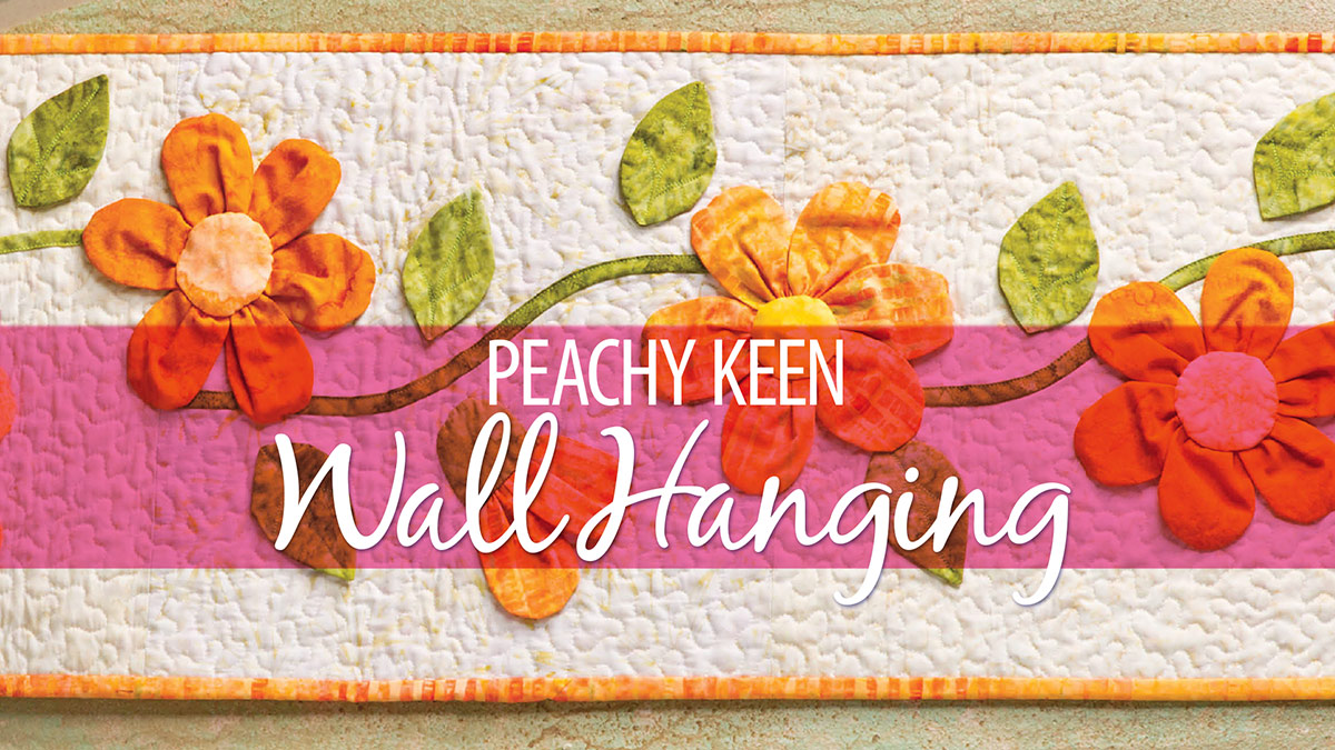 Learn, Make, Create!: Peachy Keen Wall Hanging