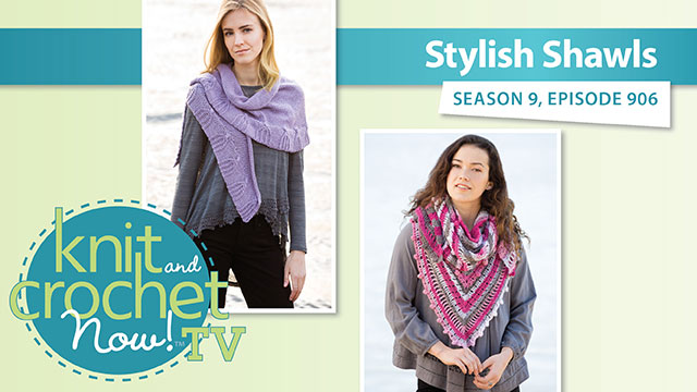 Knit and Crochet Now!: Shawl