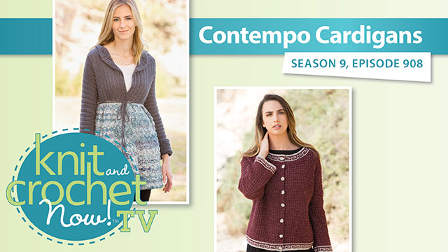 Knit and Crochet Now!: Cardigan