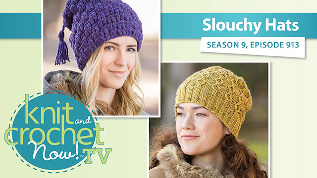 Knit and Crochet Now!: Slouchy Hat
