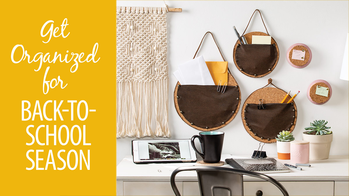 Get Organized for Back-to-School Season video