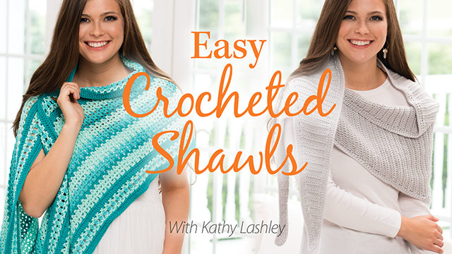 Easy Crocheted Shawls video
