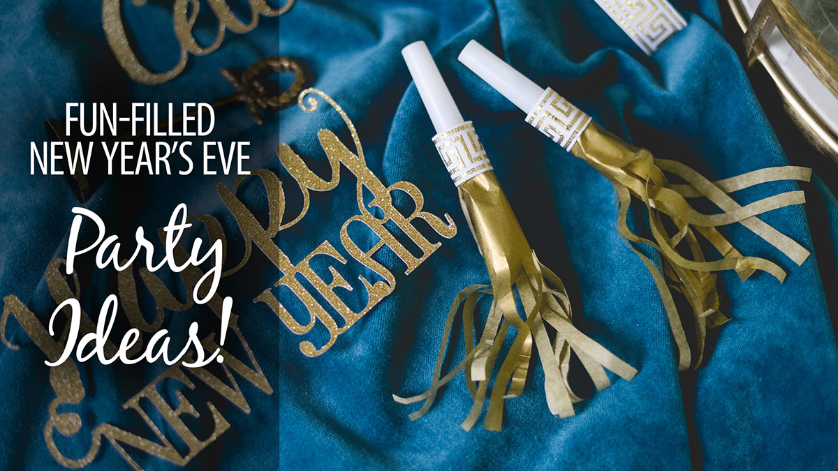 Creative Living: Fun-Filled New Year's Eve Party Ideas!