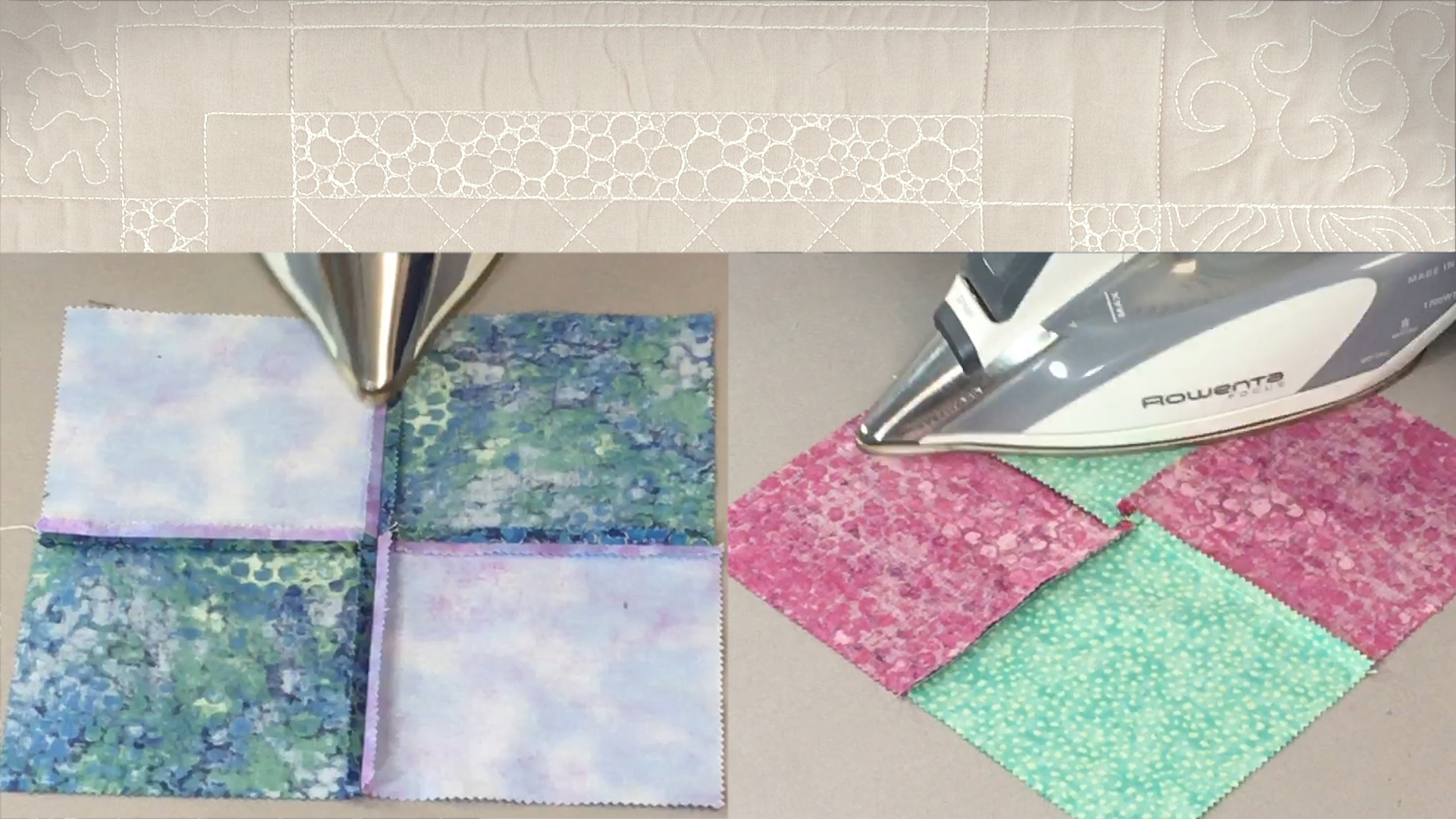Quilt & Sew Tips: Pressing Seams to Reduce Bulk