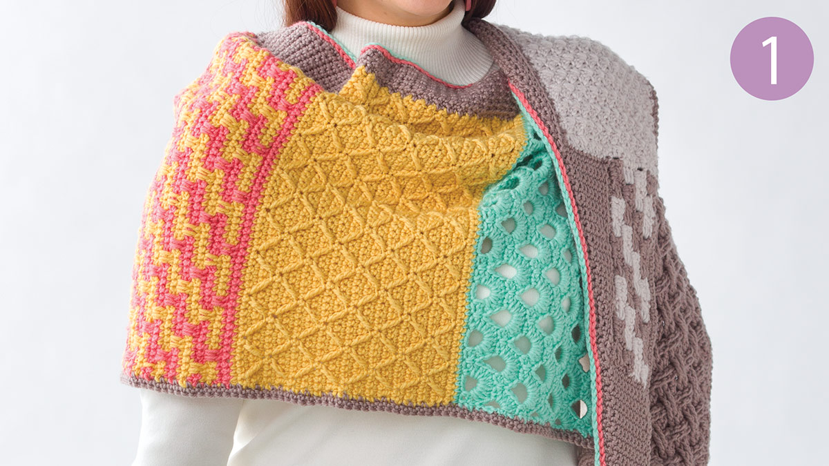 Crochet Skill Builders: Chic Shawl by Marly Bird: Introduction Part 1
