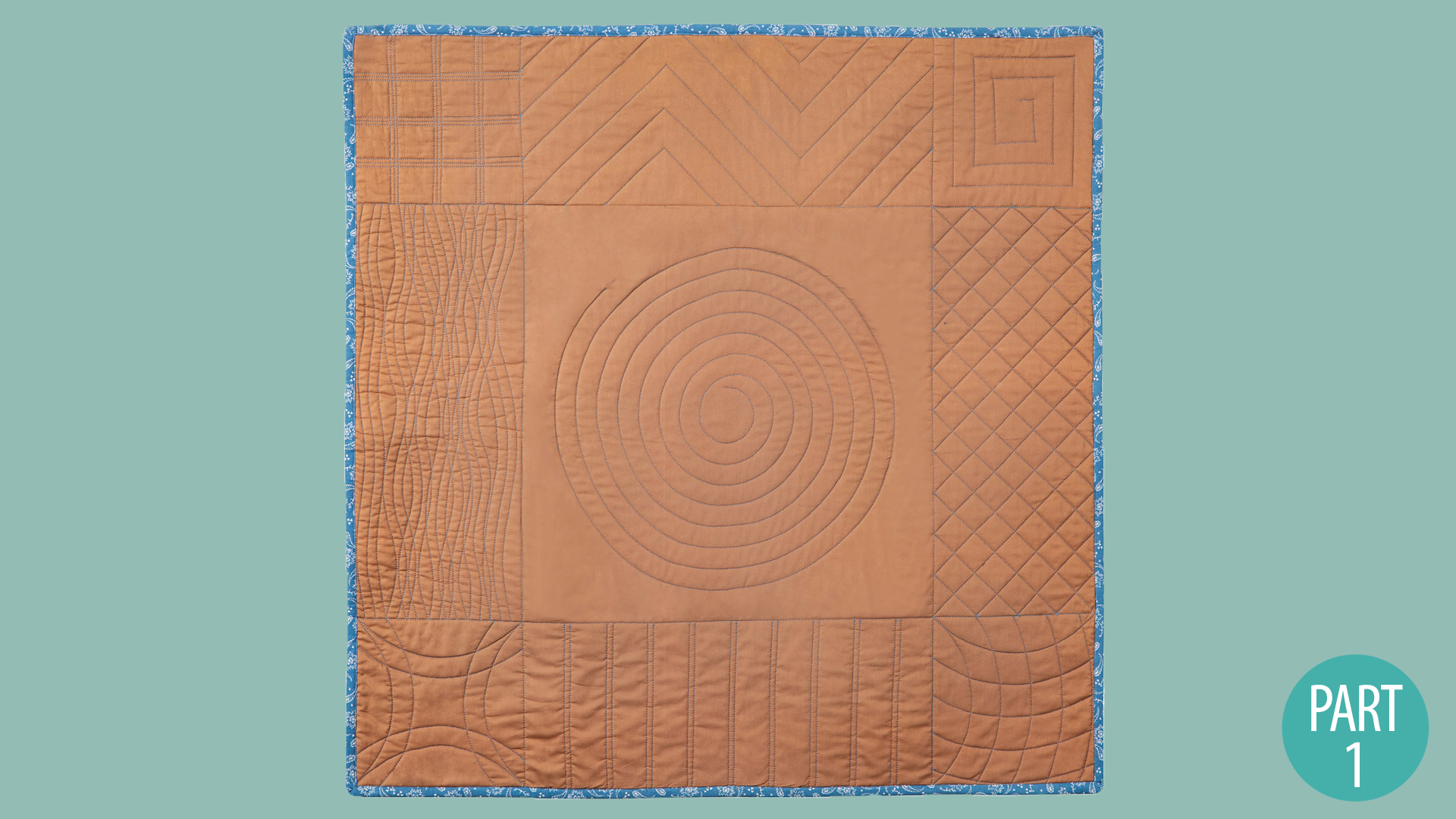 Quilter's Skill Builders: Machine Quilting With Debby Brown: Walking Foot Part 1