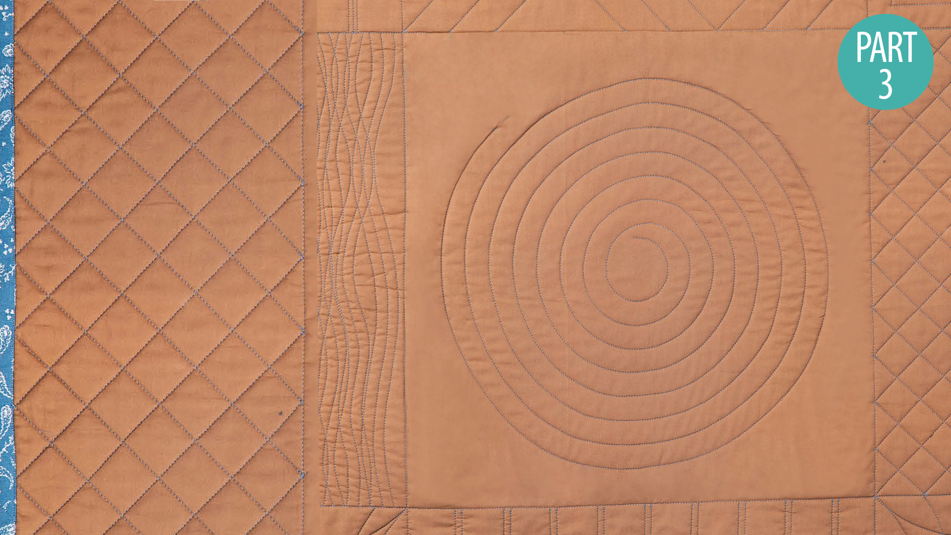 Quilter's Skill Builders: Machine Quilting With Debby Brown: Walking Foot Part 3