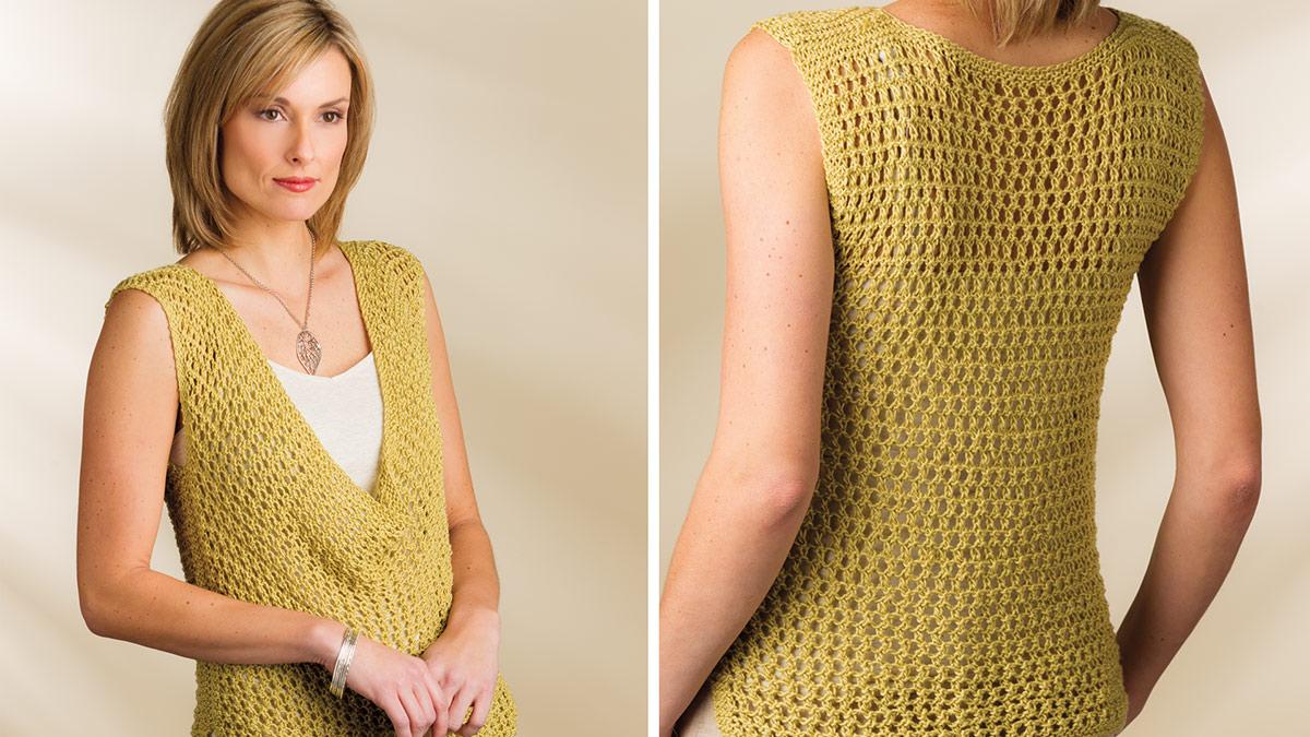Learn, Make, Create!: Indus Knit Tank
