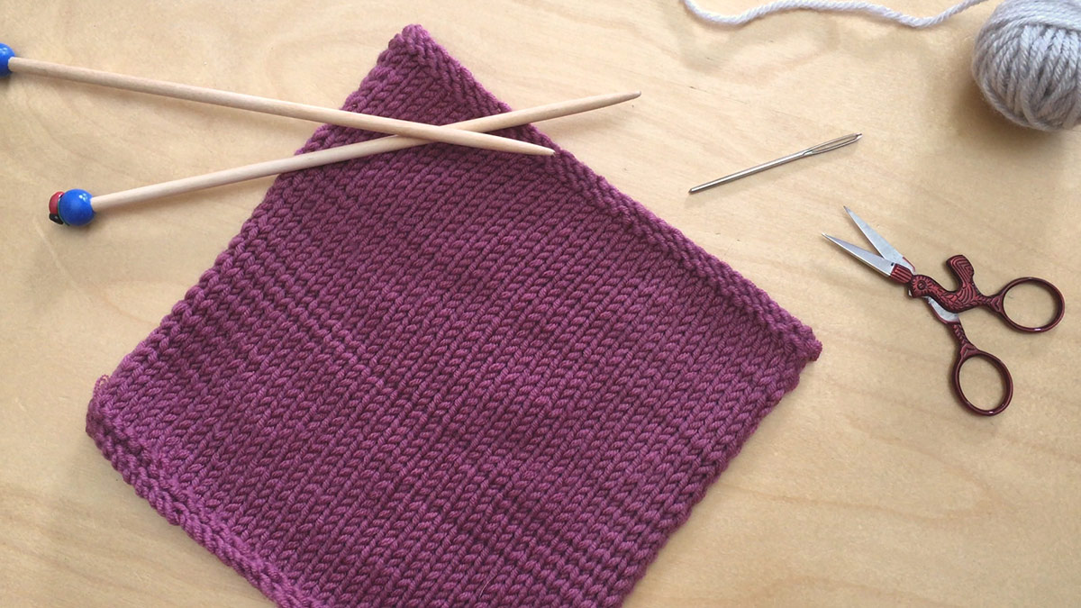 Quick Stitches & Tips: Sewn Bind-Off