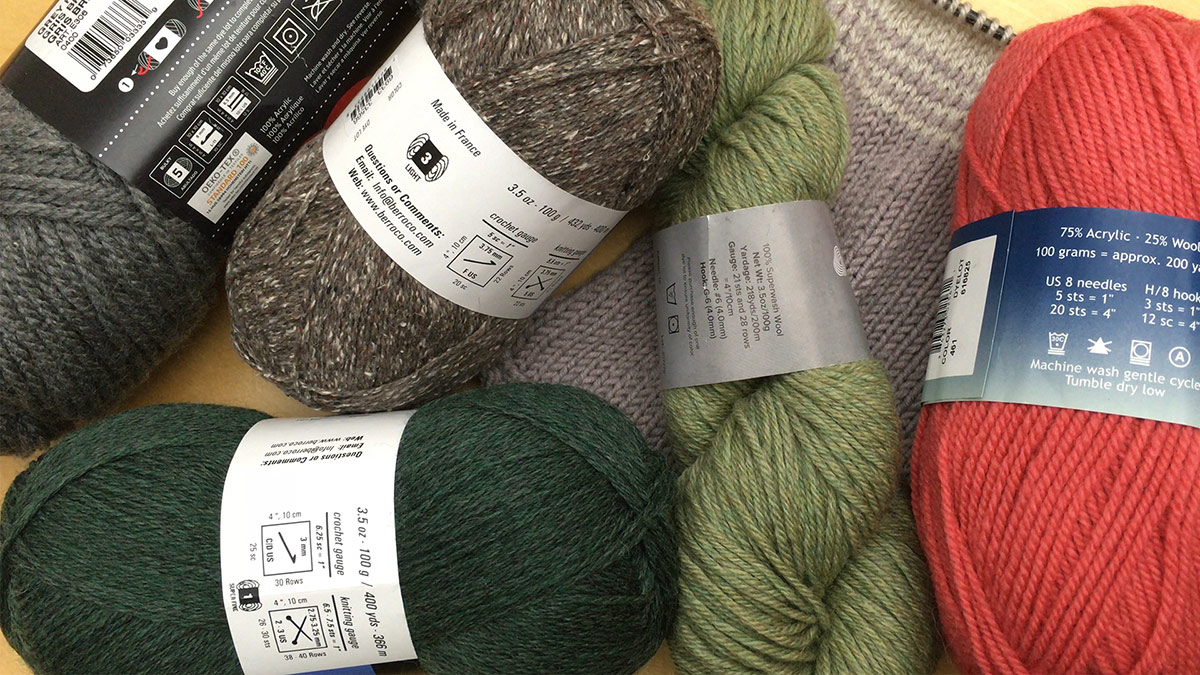 Quick Stitches & Tips: Reading a Yarn Label