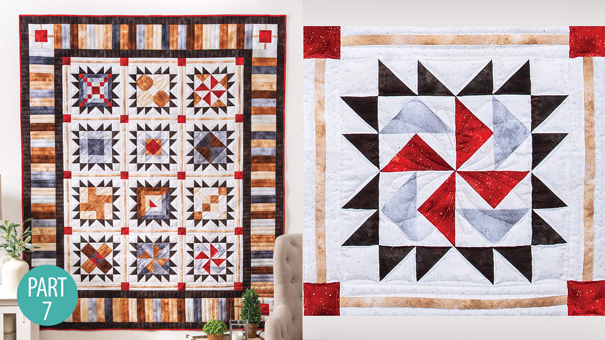 Quilter's Skill Builders: Star-Bound Sampler Quilt: Flying Geese Part 7
