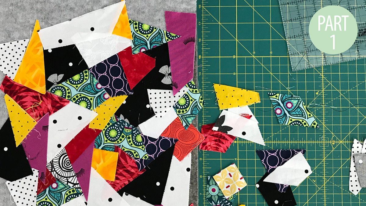 Quilt & Sew Tips: From Scraps to Yardage: Part 1