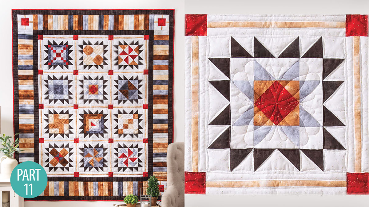 Quilter's Skill Builders: Star-Bound Sampler Quilt: Ohio Star Part 11